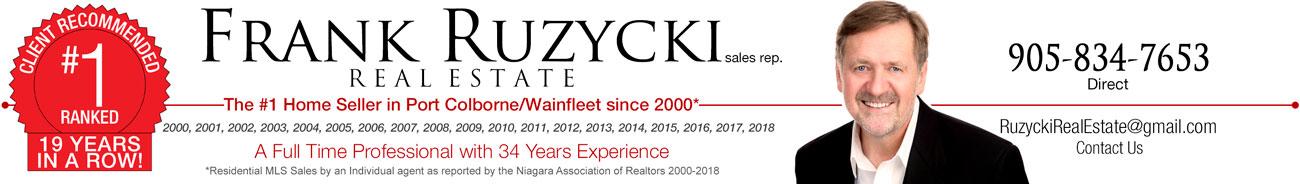 Frank Ruzycki Port Colborne Wainfleet Real Estate Agent
